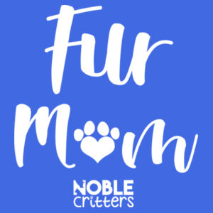 FUR MOM - PREMIUM WOMEN'S FITTED RACERBACK TANK TOP - ROYAL Design