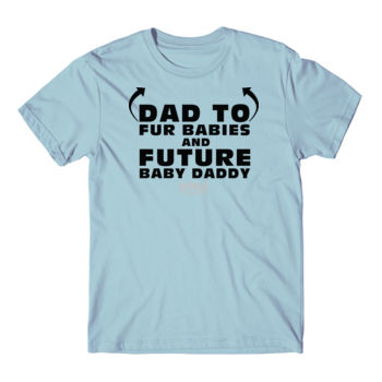 FUTURE BABY DADDY - PREMIUM UNISEX S/S TEE - LIGHT BLUE Thumbnail